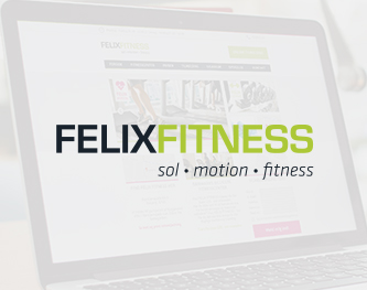 Redesign af visuel identitet for Felix Fitness